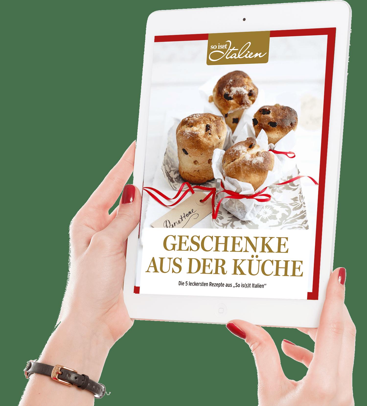 ❤ Gratis: Italienische Geschenke aus der Küche: jetzt kostenlos sichern