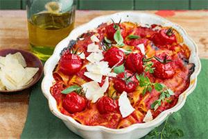 Hackfleisch-Cannelloni mit Fontina