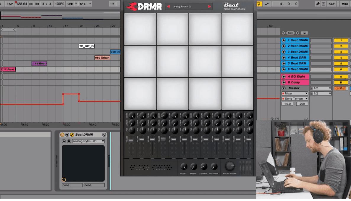 DRMR Plug-in: kostenlose Drumkits von Elektron, Arturia, Jomox uvm.