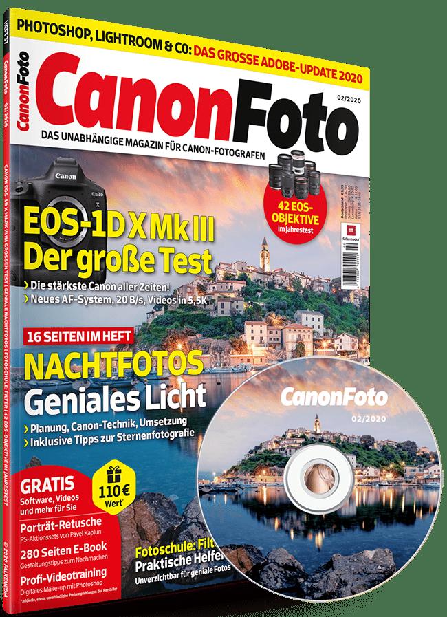 Canonfoto magazin Ausgabe 02/2020 mit Heft-CD