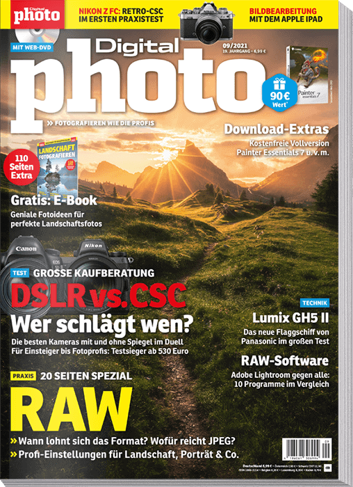 DigitalPHOTO Ausgabe 09-2021 gratis Software