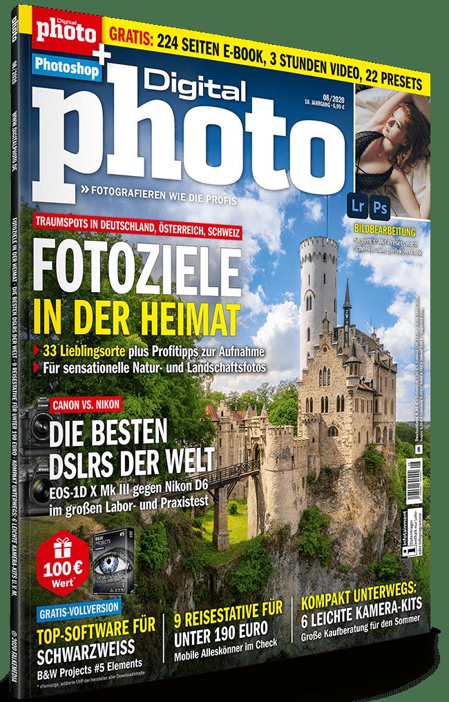 DigitalPhoto 08/2020: Jetzt Heft-CD Inhalte runterladen