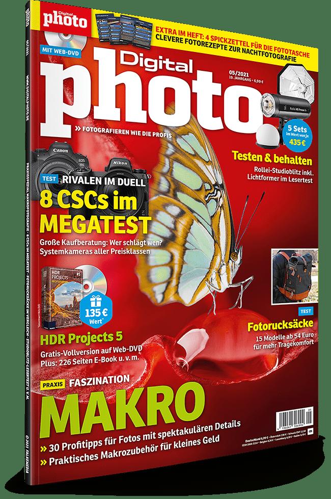 DigitalPhoto 05/2021: kostenlose Software und Vollversionen