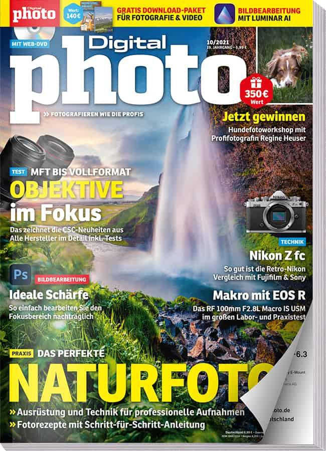 Zusätzliche Gratis-Downloads zur DigitalPhoto Ausgabe 10 2021