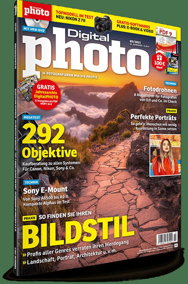 DigitalPhoto Ausgabe 03-2021 zusätzliche Inhalte gratis runterladen