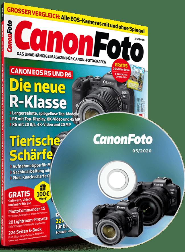 Canonfoto Magazin Ausgabe 05/2020 mit Heft-CD