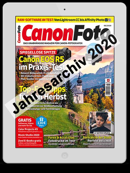 Alles Augaben vom CanonFOTO Magazin gratis sichern