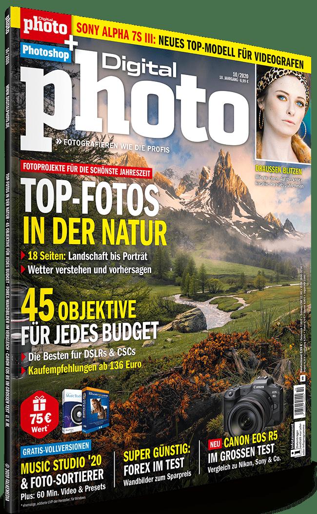 DigitalPhoto Ausgabe 10-2020: Jetzt Heft-CD Inhalte runterladen