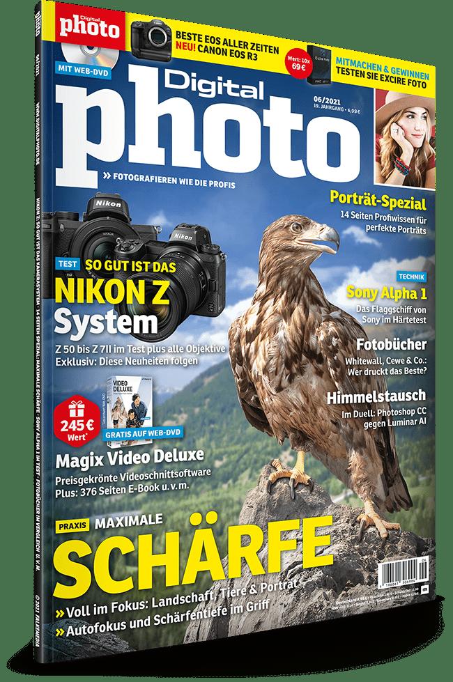 DigitalPhoto Ausgabe 06-2021: kostenlose Zusatz-Downloads