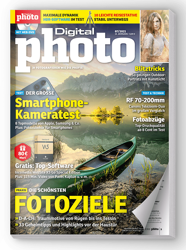 DigitalPhoto Ausgabe 07-2021: Zusatz-Downloads