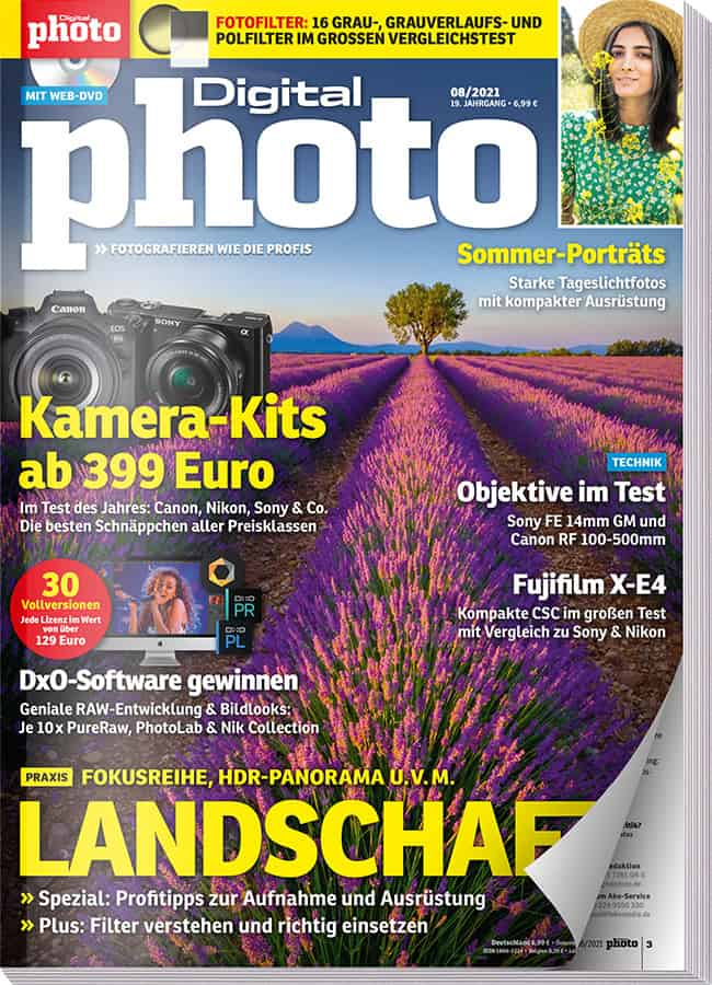 DigitalPHOTO Ausgabe 08-2021