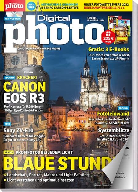 DigitalPHOTO Ausgabe 11/2021 Web-DVD Inhalte gratis sichern