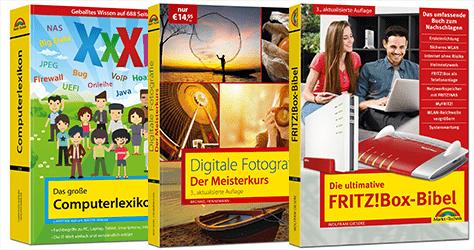 kostenloses E-Book Paket: jetzt gratis sichern