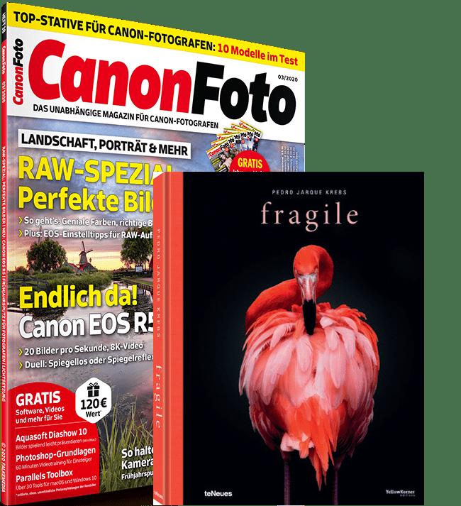 Canonfoto Magazin Ausgabe 03/2020 mit Heft-CD