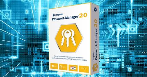 Steganos Passwort Manager 20 gratis erhalten