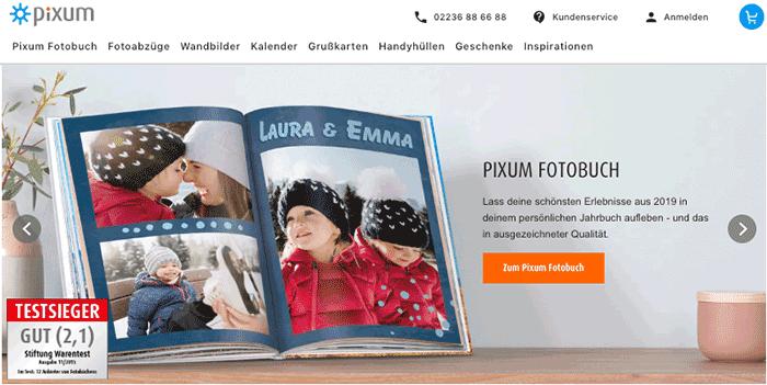 10x 50-Euro-Gutschein von Pixum