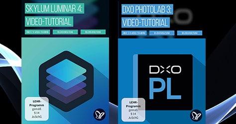Videotrainings zu DxO und Luminar