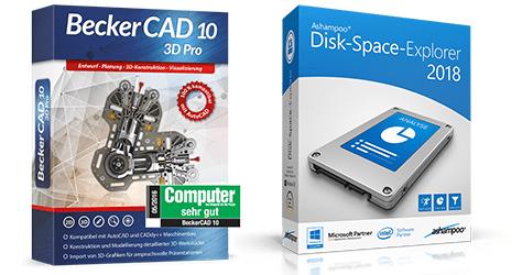 Becker CAD und Disk Space Explorer kostenlos