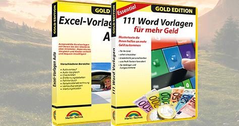 Kostenlose Excel- und Word-Vorlagen