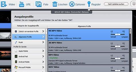 WinX DVD Konverter als Vollversion gratis sichern